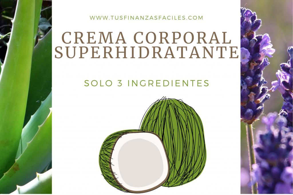 Cosmética DIY-Crema de Coco y Aloe Vera
