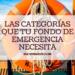 Las categorías que tu fondo de emergencia necesita